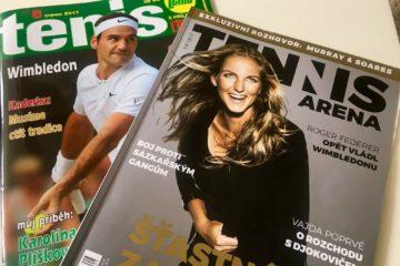 tenisové časopisy
