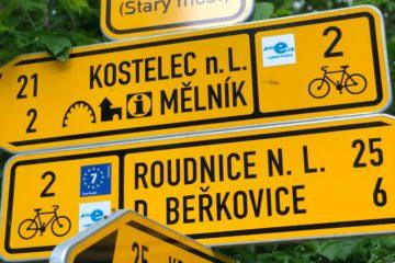 Praha-Mělník na kole
