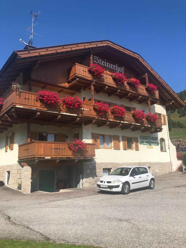 parkoviště lago di braies