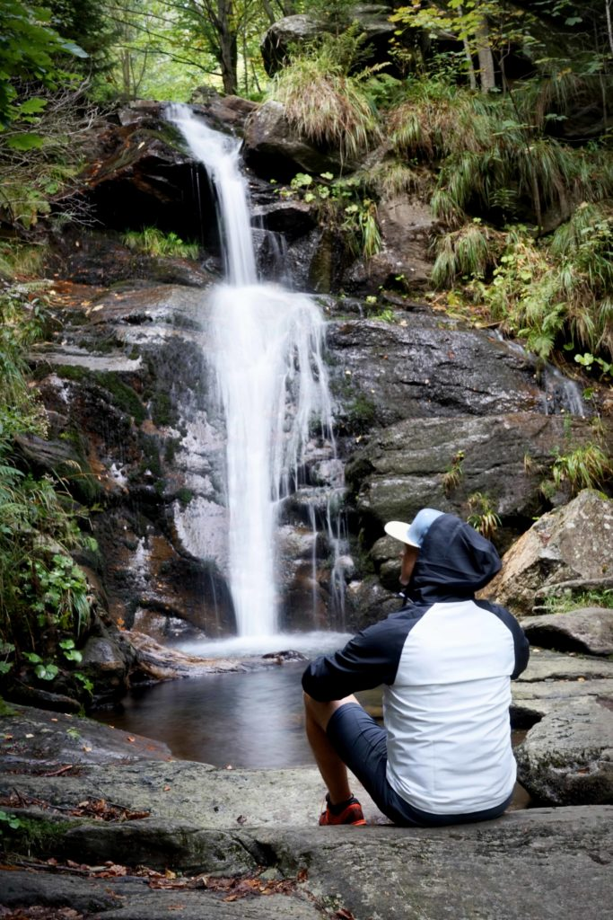 borovy vodopad trasa cesta