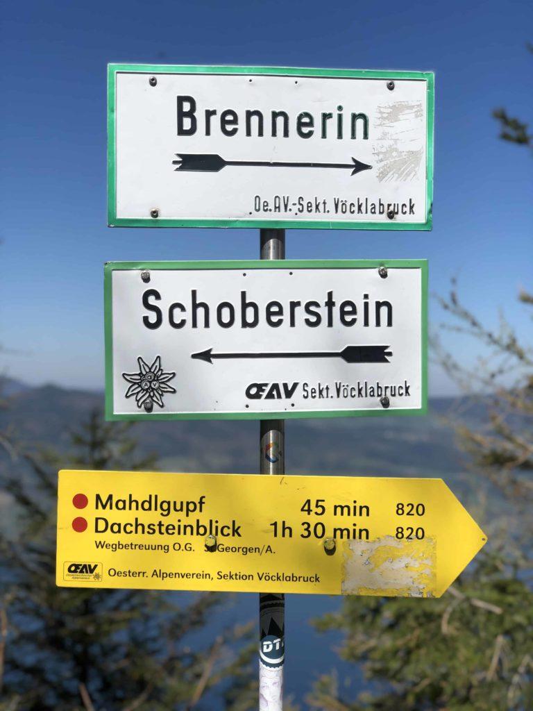 Dachsteinblick cesta
