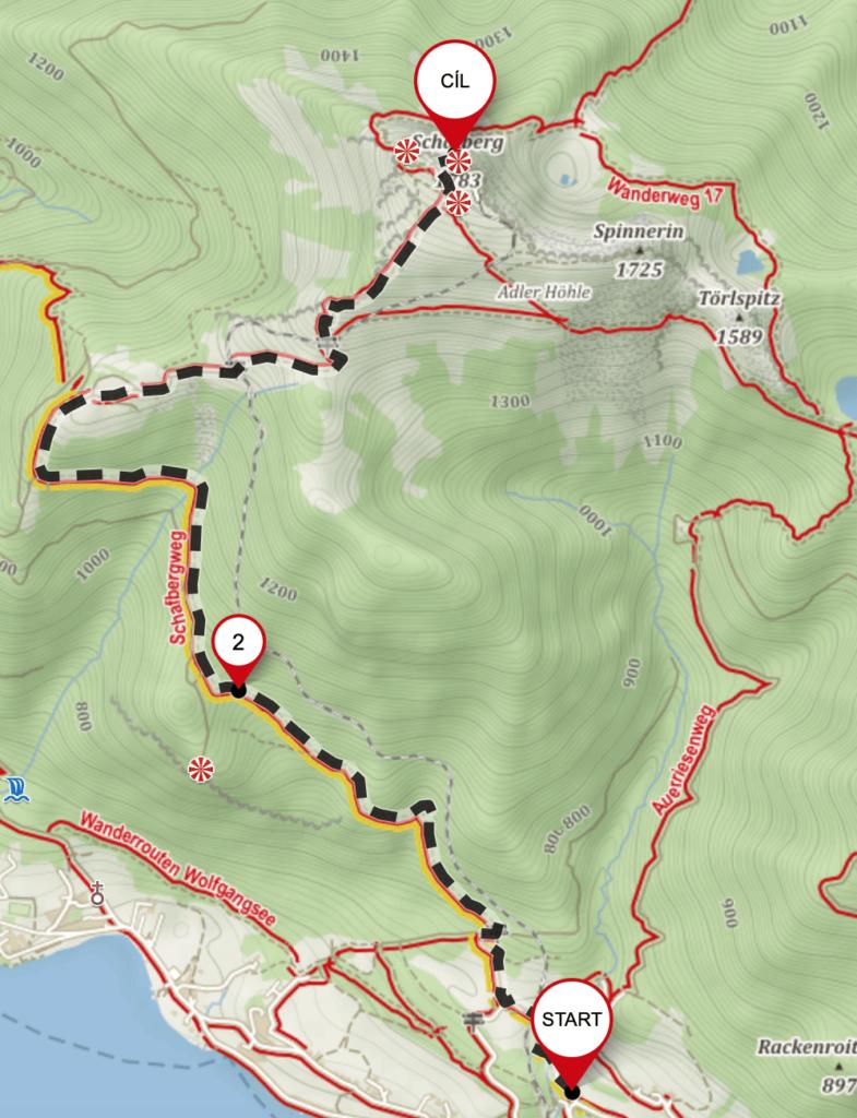 schafberg trasa