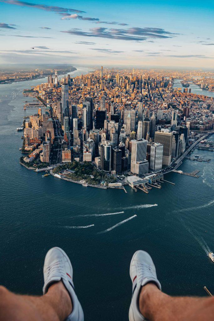 flynyon helikoptera NYC