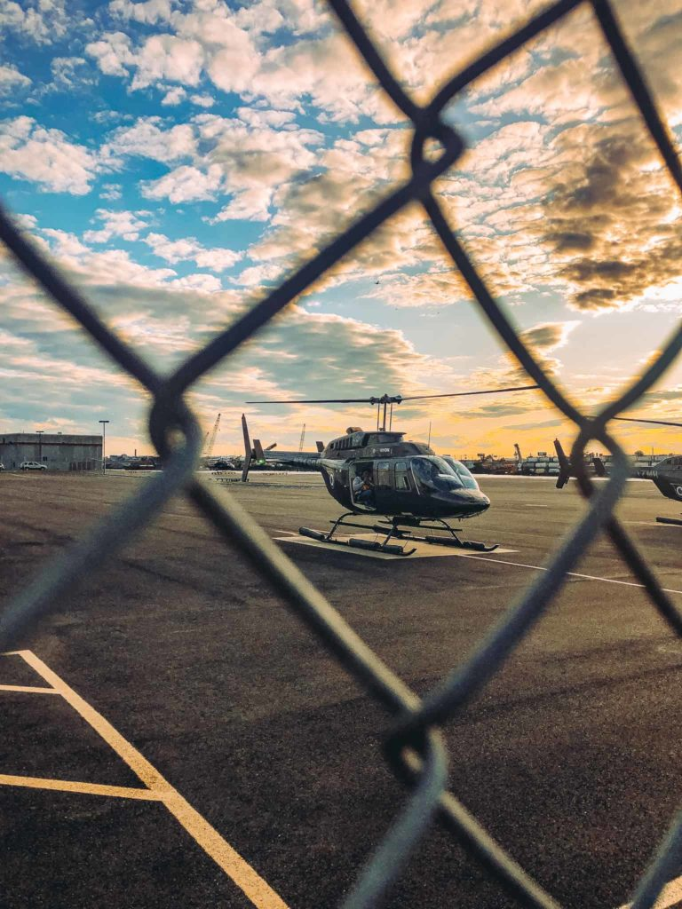 flynyon helikoptera bez dveří
