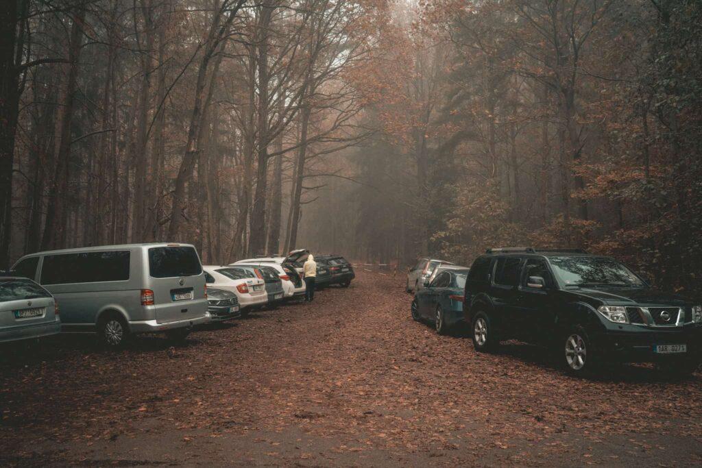 Plesivec_parkovani